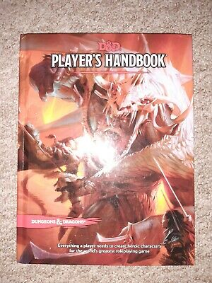 D&D Player's Handbook Fifth Edition UNUSED DUNGEONS AND DRAGONS • 21£