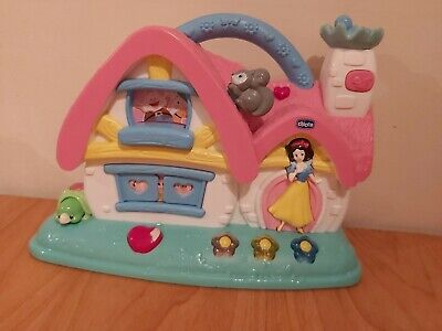 Chicco Snow White Princess Musical Cottage Toy Activity Baby House Disney Girls • 4.99£