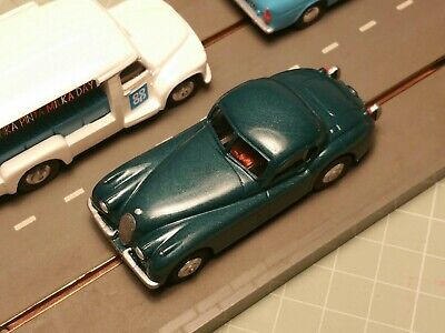 Triang Minic Motorways Chassis & Resin Jaguar XK120 Body Complete Vehicle • 46£