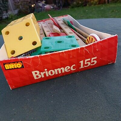 BRIO 155 PIECE CONSTRUCTION SET IN QUALITY WOOD Free P&p  • 18£