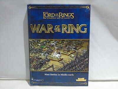 The Lord Of The Rings Strategy Battle Game War Of The Ring Games Workshop  Book  • 4£