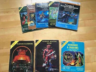 Advanced Dungeons And Dragons Expert Handbooks Collection D&D 1ST ED *RARE* • 27£