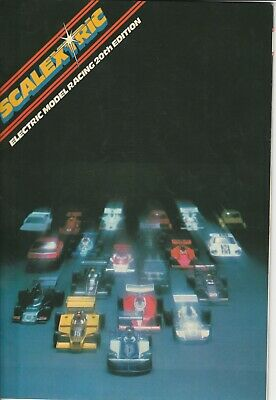 Scalextric Catalogue, 20th Edition Plus 27 Circuits Booklet • 4.99£