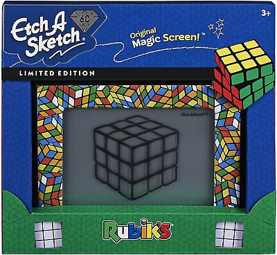 Etch A Sketch 60 Years Limited Edition Rubik's - Classic Children's Toy • 39.95£