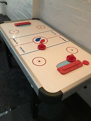 Air Hockey Table Electric With Adapter 5ft Turbo Hockey Air Powered Games Toy • 50£