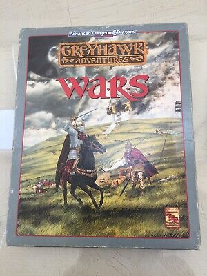 TSR's Greyhawk Wars Campaign Setting And Supplement. Advanced Dungeons & Dragons • 79.99£