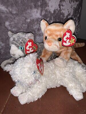 Ty Beanie Babies Cats • 12£