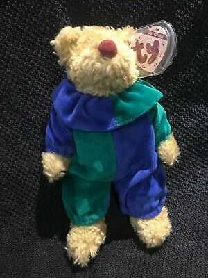 RARE EARLY TY Attic Treasures Bear - PICCADILLY - 9 Inches Tall - BNWT • 4.99£