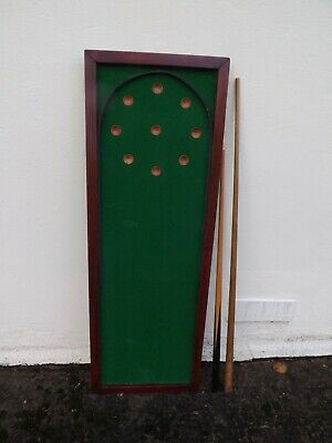 Childrens 1870  Victorian Table Top Bagatelle Original For Resteration • 65£