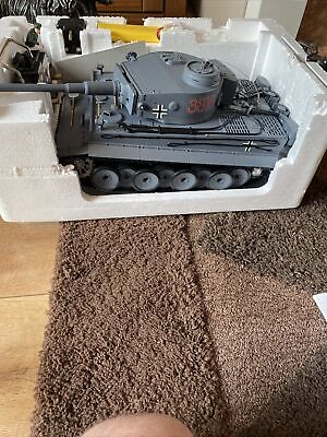 German Tiger Remote Controled Battle Tank • 100£
