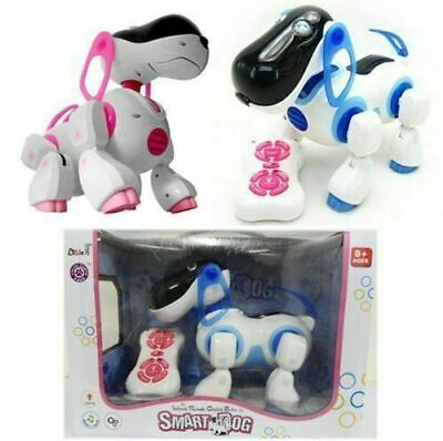 Remote Control Interactive Dog Puppy Learn And Play Robot Walking Talking Toy • 14.99£