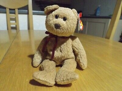 Ty Beanies Baby CURLY THE BEAR New Retired • 3.98£