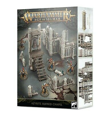 Warhammer | AGE OF SIGMAR: AZYRITE RUINED CHAPEL • 35£