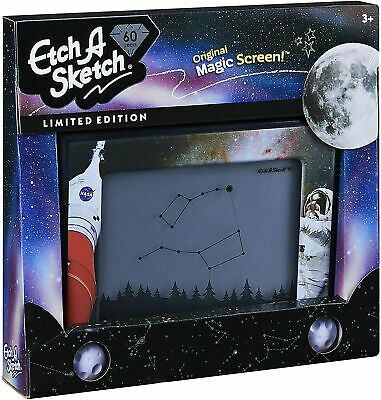 Etch A Sketch 60 Years Limited Edition Nasa - Classic Children's Childs Toy • 39£