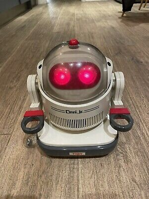 Omni Jr Robot By Tomy Tested And Working Retro 80s Robot Toy With Remote • 65£