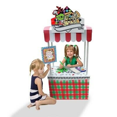 Cardboard Playhouse Little Vendor Stand 11350 Funny Paper Furniture FPF Shop • 25£