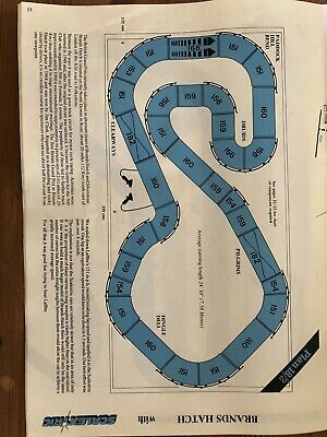 Huge Scalextric Classic Brands Hatch Track 32 Pieces • 45£