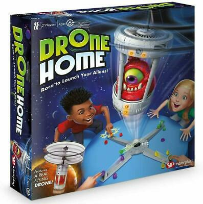 Interplay Drone Home Skill Fast Paced Action Board Game Race Launch Your Aliens • 18.99£