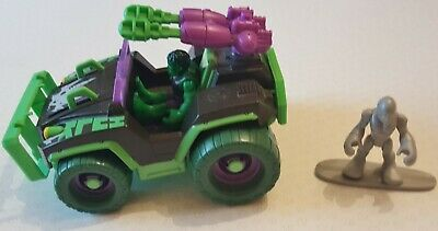 Playskool Mud Stormin' 4x4 Vehicle With Hulk & Silver Surfer Figures • 22.99£