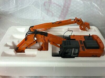 Hitachi ZX 350 LC Demolition Excavator With Two Booms 1/50 Scale • 199.95£