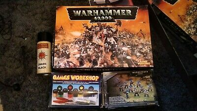 Warhammer 40k 40,000 3rd Edition Complete Starter Set Box 1998 + Spare Parts • 130£