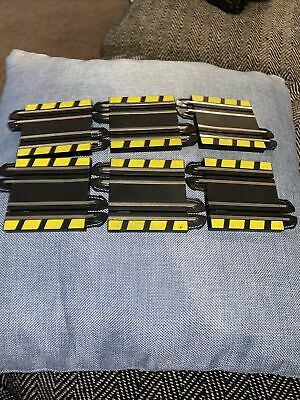 Micro Scalextric Half Straights X6  • 3.20£