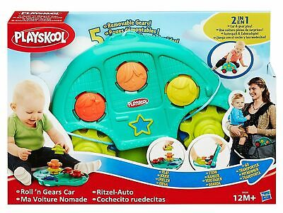 Playskool  2 In1 Roll 'N Gears Car Baby Toddler Fun Educational Toy 12M+ • 12.99£