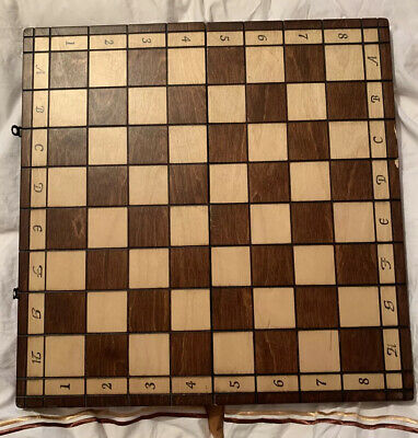 Cherry Wood Chess Board Complete • 18.10£
