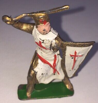 Vintage Cherilea Lead Medievil Crusader Knight • 9.99£