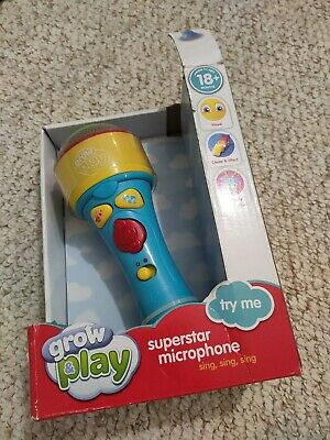 Grow Play Superstar Microphone • 7£