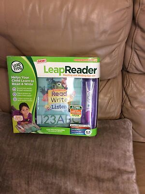 See Description Leap Frog Leap Reader Reading And Writing System Free Postage • 16£