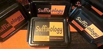 Homeschool Resources -Flashcards: Suffixology. KS2-4, Reluctant Readers, EAL  • 6£