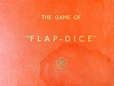 The Game Of  Flap-dice  • 4£