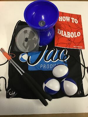 Juggling Activity Set, Giro Diabolo,Handsticks, Booklet,DVD,Juggling Balls & Bag • 16£