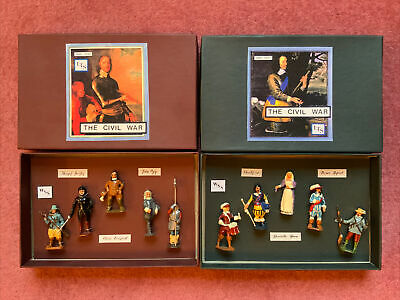 English Civil War Lead Figures. Boxed And In Mint Condition. • 20£