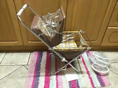 Vintage Childs Doll Pushchair Italian Made Never Used • 24.99£