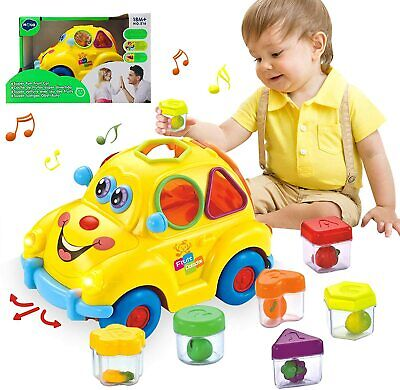 HOMOFY Baby Musical Car Toy Fruit Shape Early Education 12-18...  • 23.99£