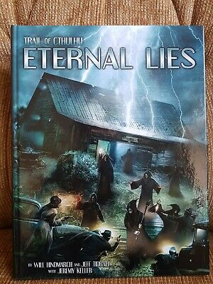 Trail Cthulhu Eternal Lies Hardback By Pelgrane Press • 31£