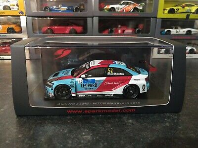 Spark 1/43 Audi RS 3 LMS WTCR Gordon Shedden 2019 #52 Great Condition • 80£