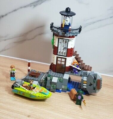 LEGO Scooby-doo Haunted Lighthouse Set - 75903 With Motor Boat And Figures. • 49£
