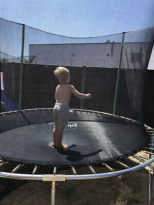 12ft Tramploine  With Net  • 65£
