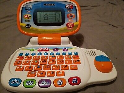 Vtech Interactive Laptop Toy Kids Learning Computer 30-Fun Activities Sound Used • 4.99£