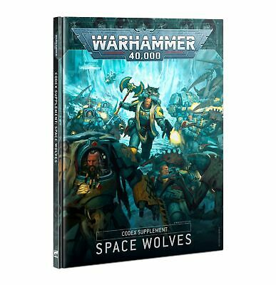 Warhammer 40K | CODEX: SPACE WOLVES (HB) (ENGLISH) • 17.50£