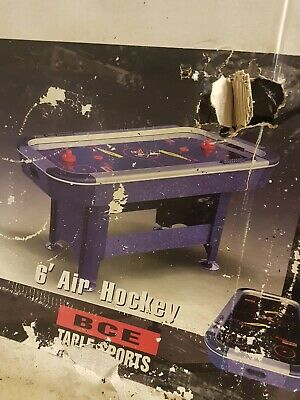 Bce 6' Air Hockey Table Brand New Still In Sealed Box • 130£