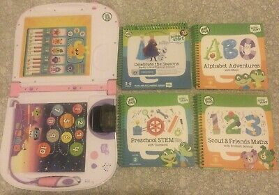 Leapfrog Leapstart 3d And 4 Books • 20£