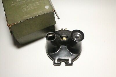 VINTAGE SAWYER'S VIEWMASTER VIEWER 1940's BOXED - SPARES/REPAIRS • 20£