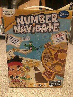 Disney Junior Jake And The Neverland Pirates Number Navigate • 0.99£