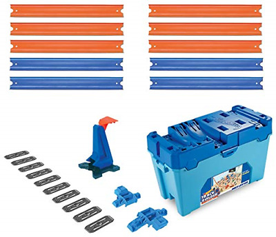 Hot Wheels FLK90 Builder Multi Loop Box Playset And Connectable Track Play Set • 32.59£