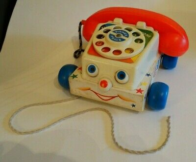 Vintage Fisher Price Chatter Telephone 1961 • 12£