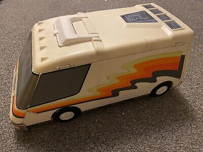 Vintage Micro Machines Super Van City Playset, 1991, Galoob • 10£